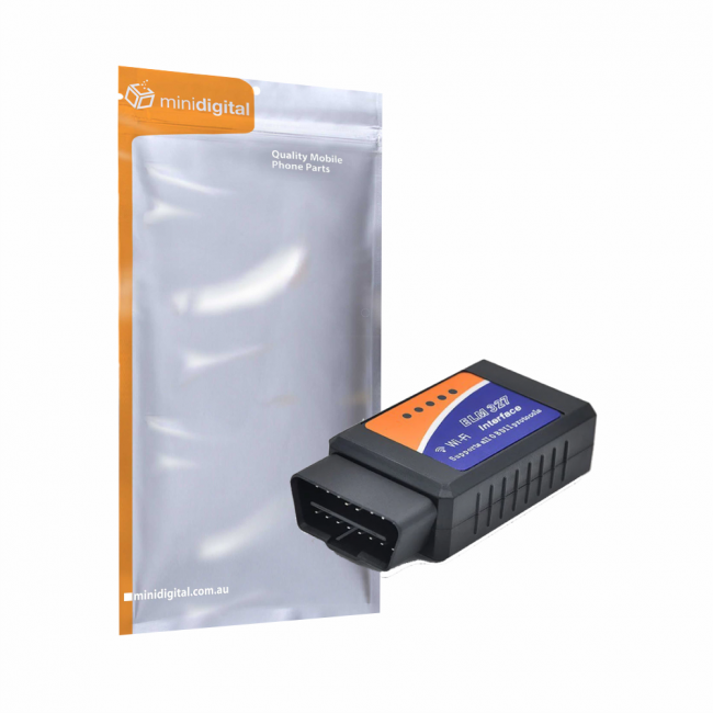 OBDII OBD2 WiFi Car Diagnostic Code Reader iPhone Android ELM327